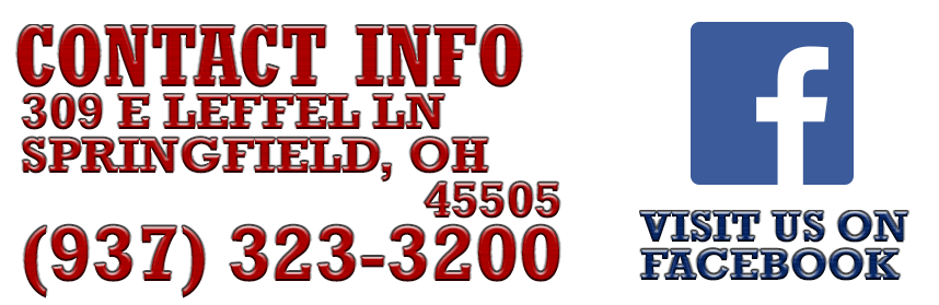 Contact info 309 E Leffel Ln Springfield, OH   45505 (937) 323-3200